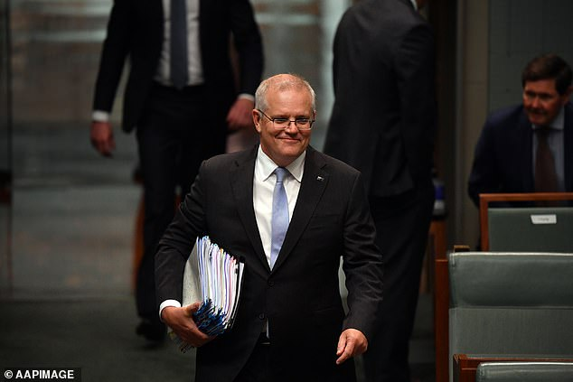 Australian Prime Minister Scott Morrison (pictured) said the development is the first of many more steps to come as the two countries get back to a normal in the wake of the pandemic
