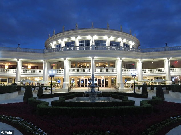 The event with Gaetz is expected to be held at Trump Doral in Miami, pictured, this weekend