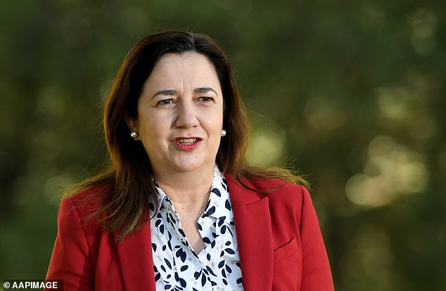 Annastacia Palaszczuk (pictured) has written a letter to Scott Morrison calling for National Cabinet to host a gender equality summit every year
