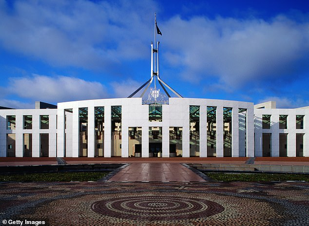 Ms Higgins alleges she was raped by a male colleague inside a ministerial office in Parliament House after a night out in 2019