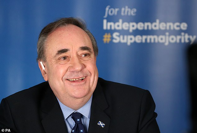Scotland's former first minister refused to outright condemn the autocratic leader over claims he interfered in US elections and the 2014 Scottish independence referendum.