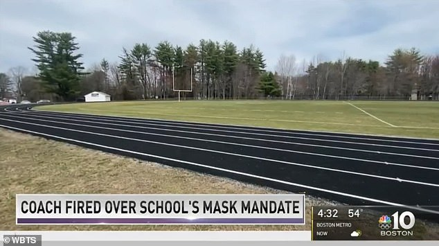 Keyes, who coached at Pembroke Academy for the last four years, said the school requires student athletes to wear masks at athletic events, something he doesn't completely agree with