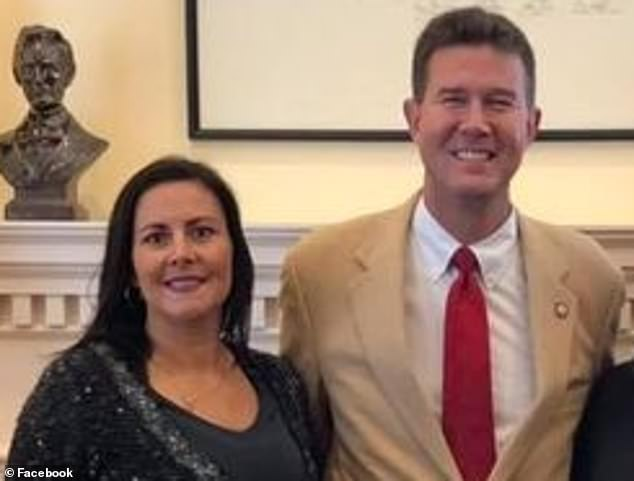 John Merrill, Alabama's Republican secretary of state, acknowledged that he carried on a nearly one-year extramarital affair with Cesaire McPherson, a 44-year-old legal assistant from Montgomery, from November 2017 until November 2020. Merrill and McPherson are photographed together at the State Capitol in November 2018 - a year after the affair started