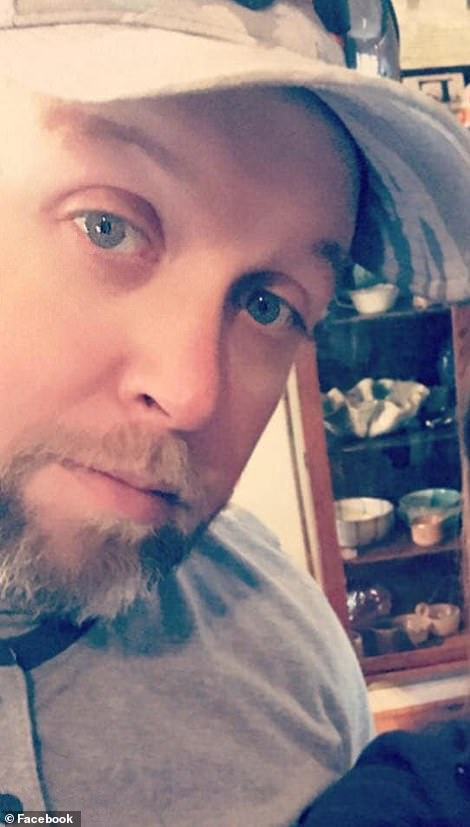 Robert Shook, 38, of Cherryville, South Carolina is the only survivor of Wednesday's mass shooting in Rock Hill, South Carolina