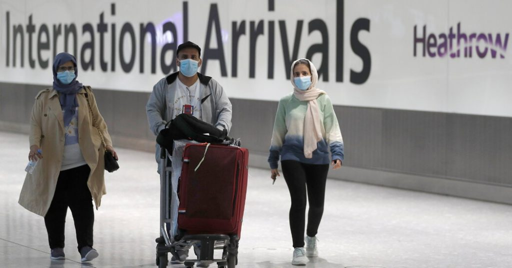 The united kingdom will begin requiring many international travelers to quarantine in a hotel upon arrival later th. England Cuts Covid Travel 'Red List' to Just 7 Countries ...