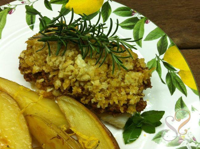 Bacalhau crocante com tomate seco e limão siciliano…