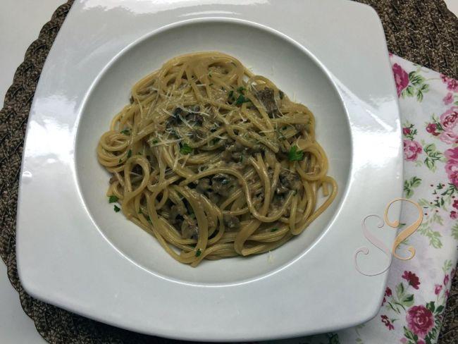 Spaghetti ao funghi porcinni…