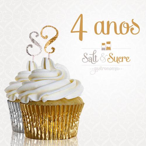Aniversário de 4 anos Salt & Sucre…