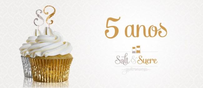 Aniversário 5 anos Salt & Sucre…