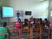 Training at MJF Women Entrepreneurs
