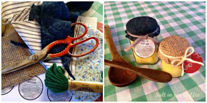 Spoon decorate collage