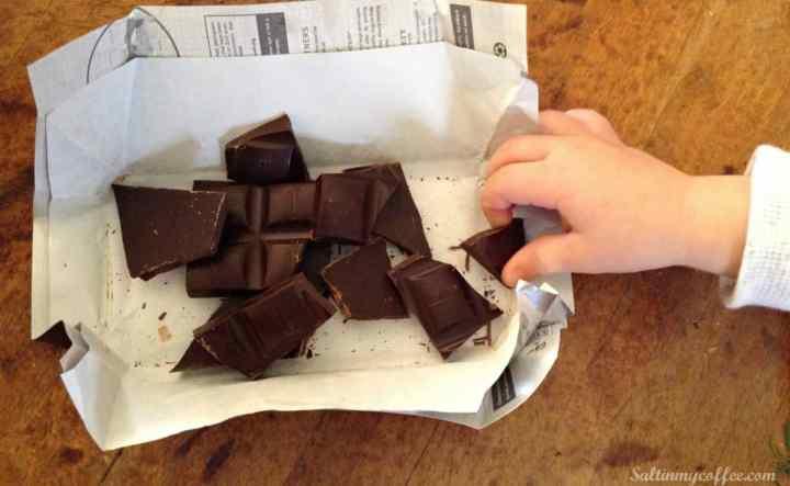 Paleo Dark Chocolate Haystacks
