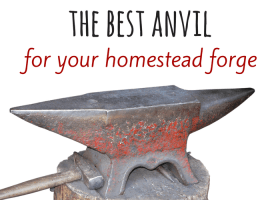 How to choose the best anvil for your forge