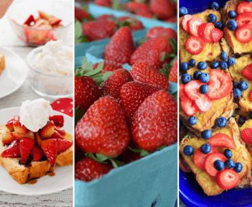 strawberry breakfast ideas
