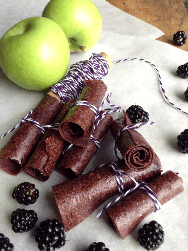 blackberry apple fruit leather recipe