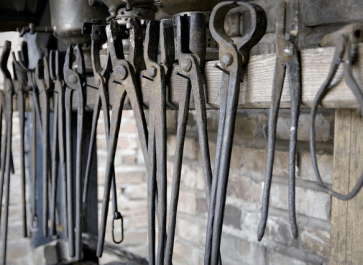 blacksmith tools to complete your forge