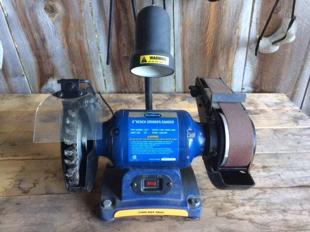 grinder wheel for blacksmithing