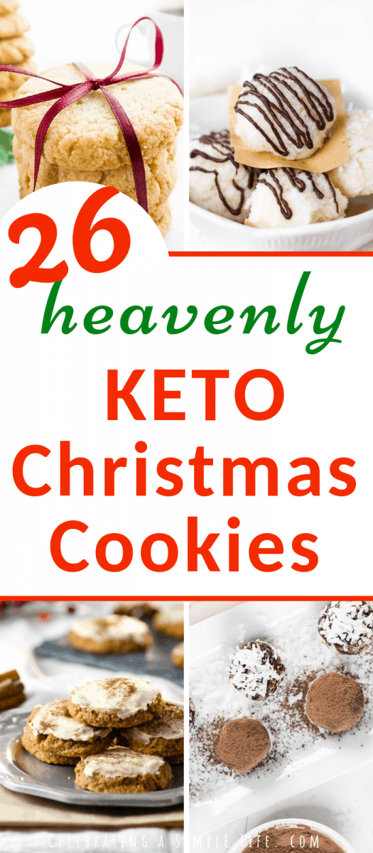 heavenly KETO Christmas Cookies for 2018