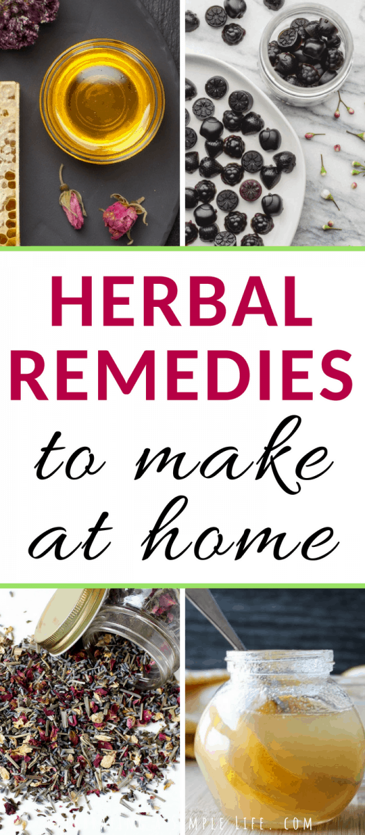 herbal remedies you can make at home