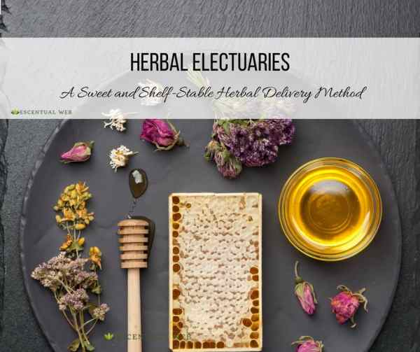 herbal healing electuaries