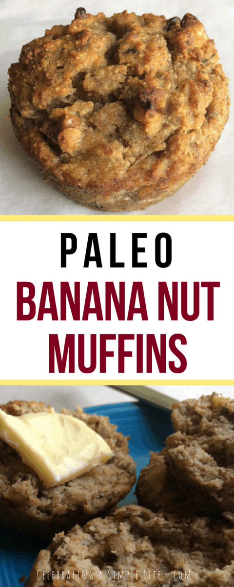 Super easy (and amazing!) paleo banana nut muffins recipe