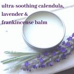 soothing calendula balm