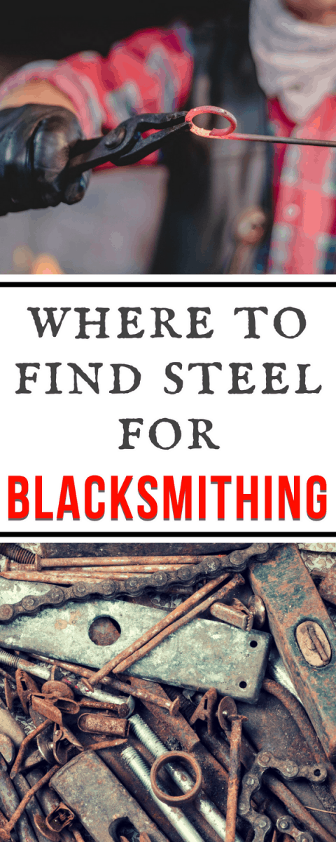 super helpful list of tips for buying and finding steel for blacksmithing, and which types to use for which projects.