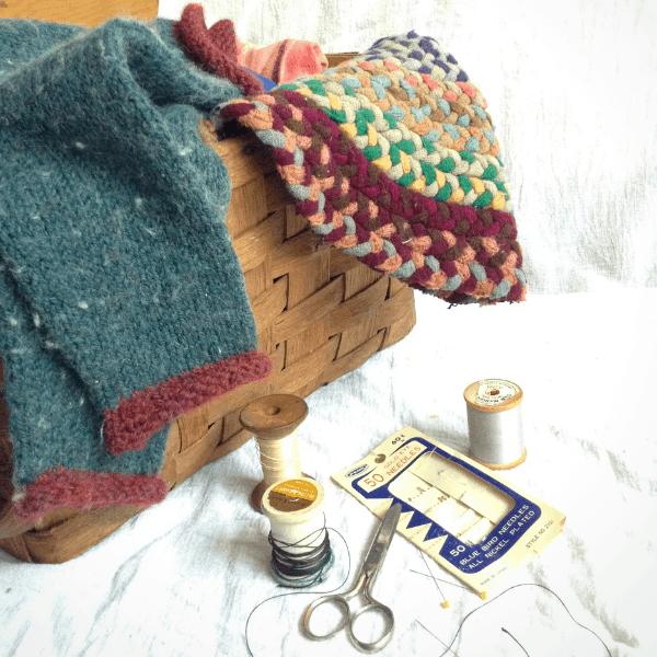 a working mending basket