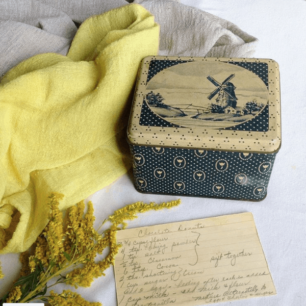 dyeing fabric with goldenrod and alum