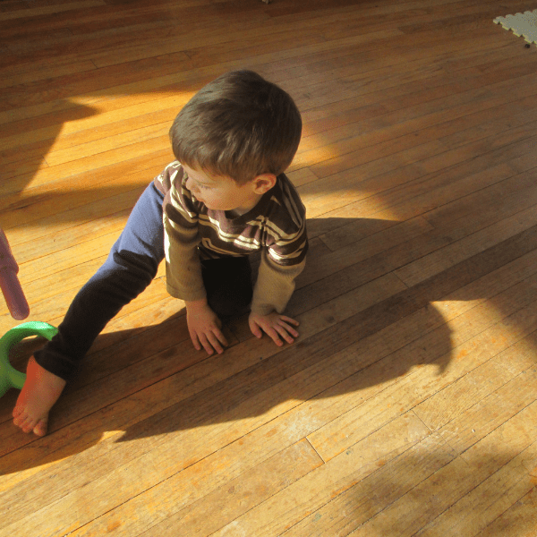 yoga with kids can help turn around a bad mom morning