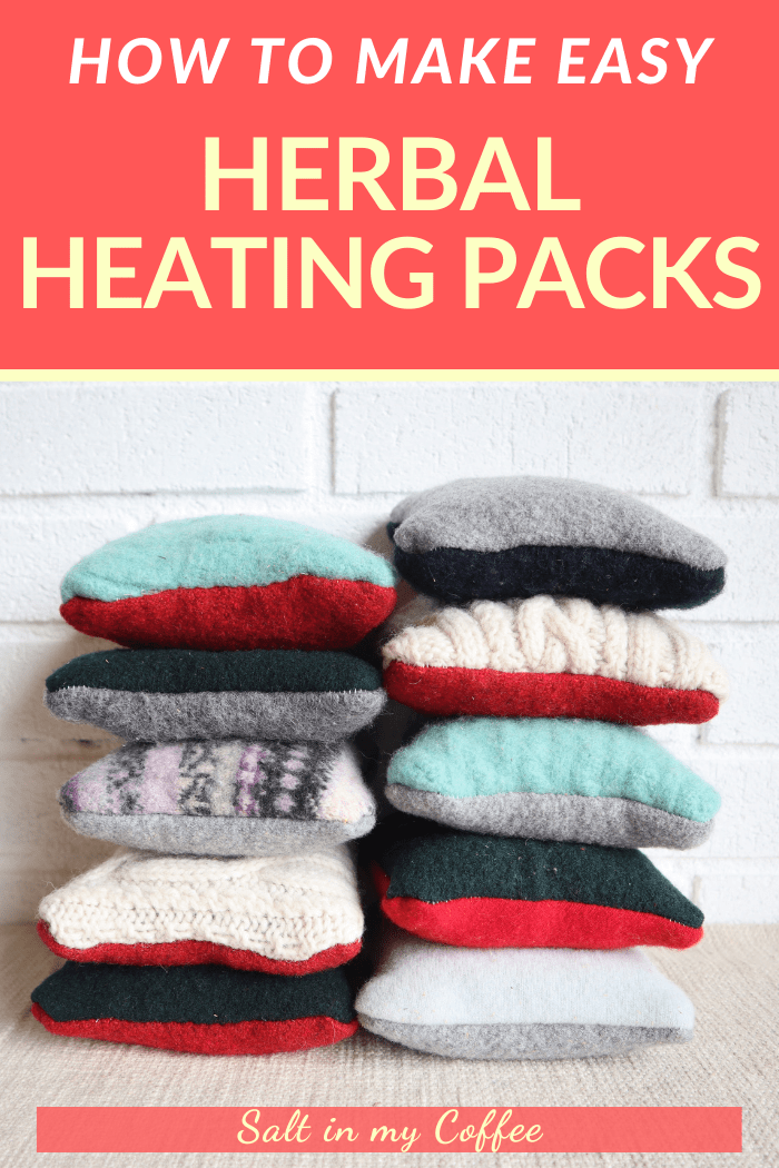 DIY Herbal heating packs