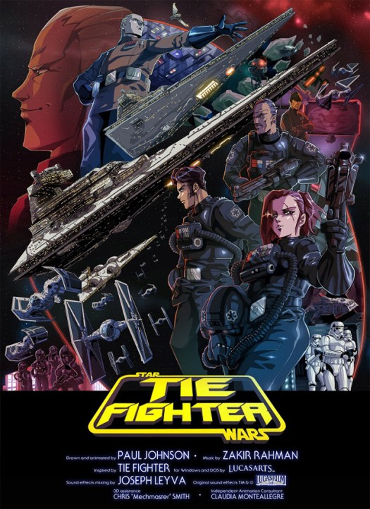 tie-fighter-corto-poster