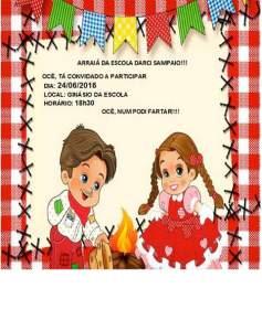FB_IMG_1466209494220-237x300 FESTA DE SÃO JOÃO: Escola Darci Sampaio convida comunidade