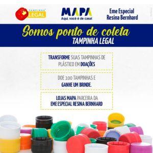 CAMPANHA-rESINA-300x300 Participe! 😊 Transforme suas tampinhas em doação. A cada 100 você ganha um brinde