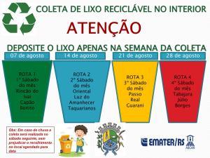 lixo-reciclavel-300x225 Coleta de lixo reciclável no interior
