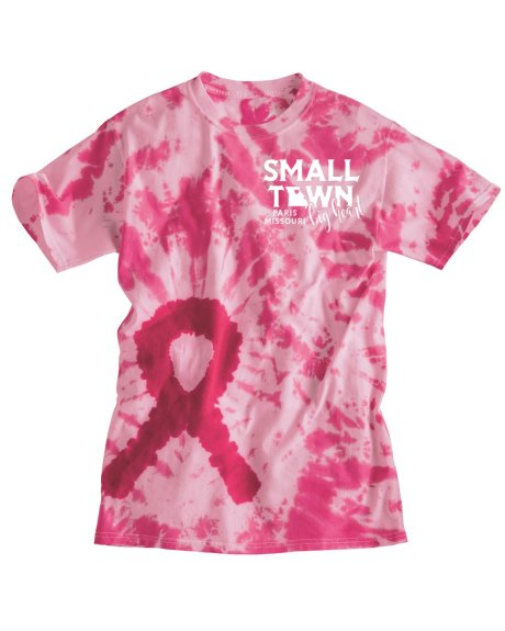 Pink Tie-Dye Ribbon t-shirt