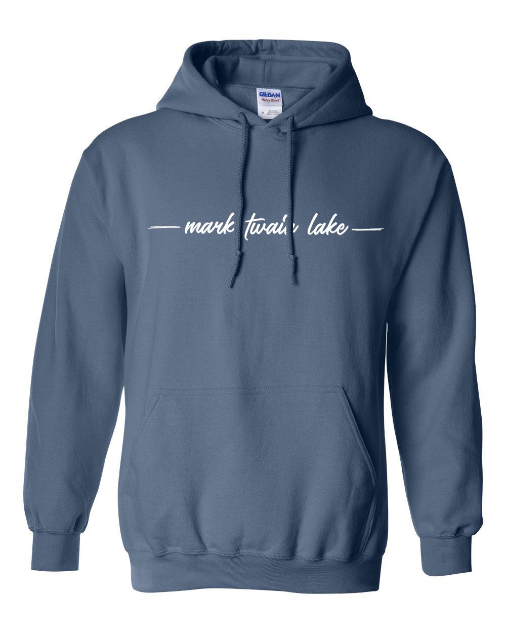 Mark Twain Lake Hoodie indigo