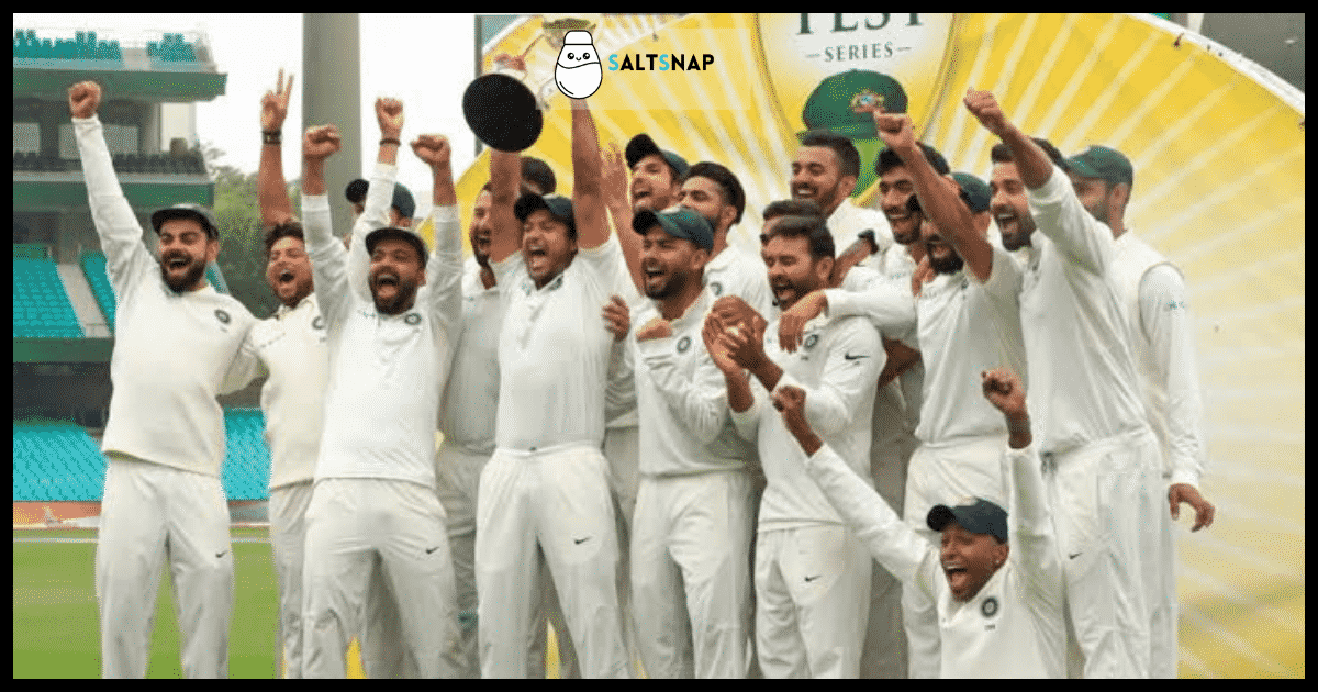India's Victory at Lords