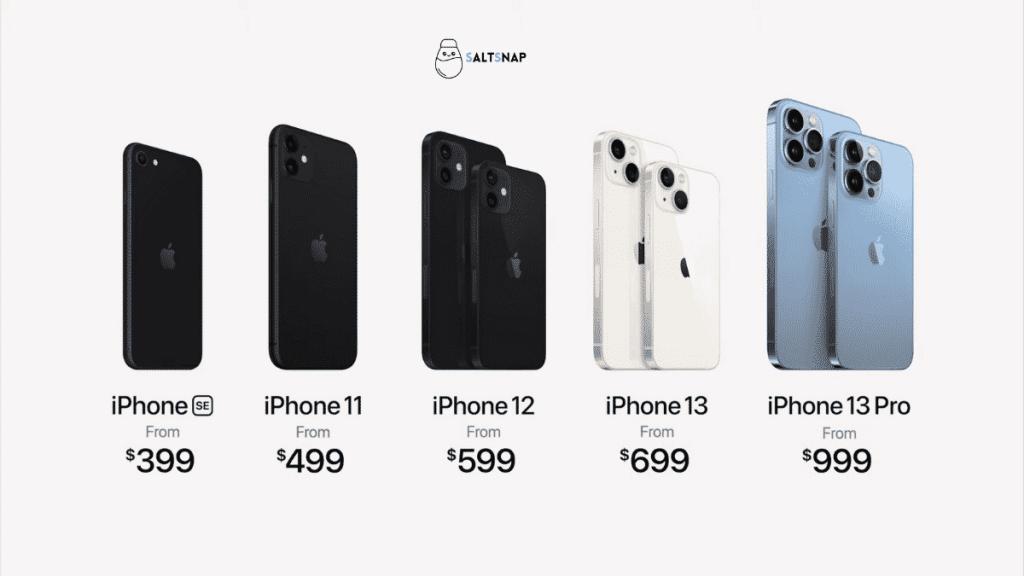 new iphone 13 prices
