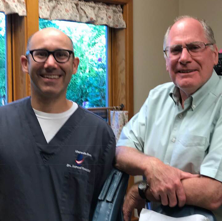 Dr. Wm. E. Lea and Dr. Sam Weisz, DMD