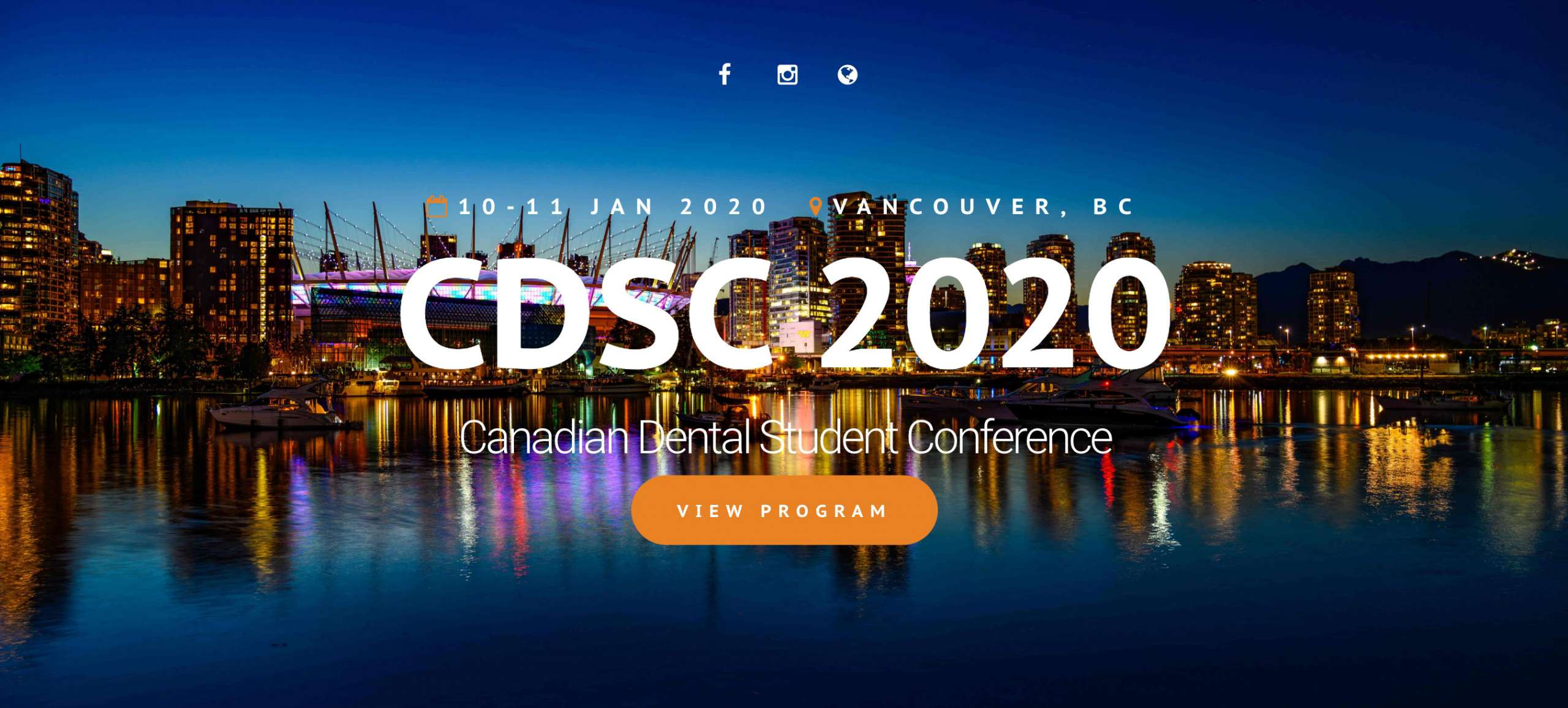 Canadian Dental Student Conference 2020