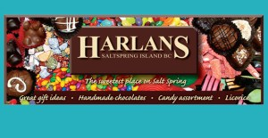 Harlan's Chocolates on Salt Spring Island