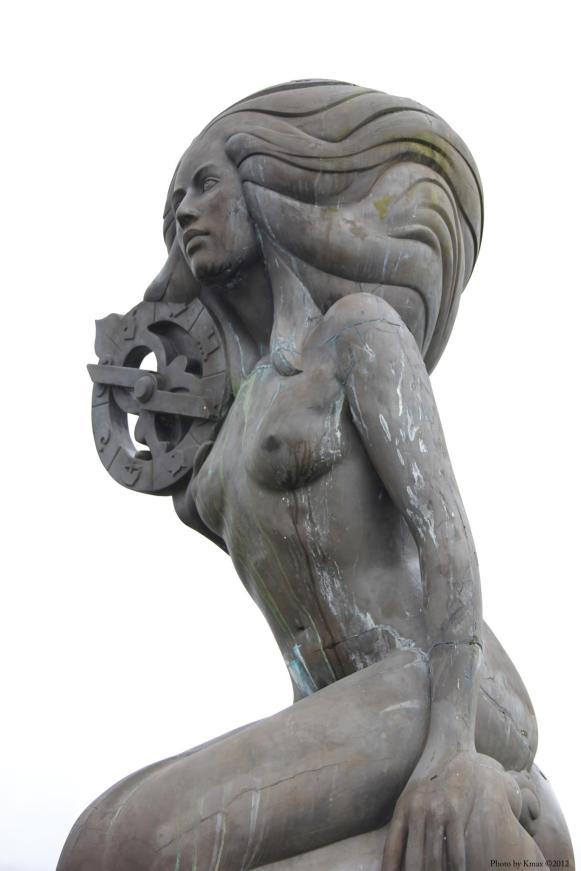 Mermaid Sculpture, Salt Spring Island, BC