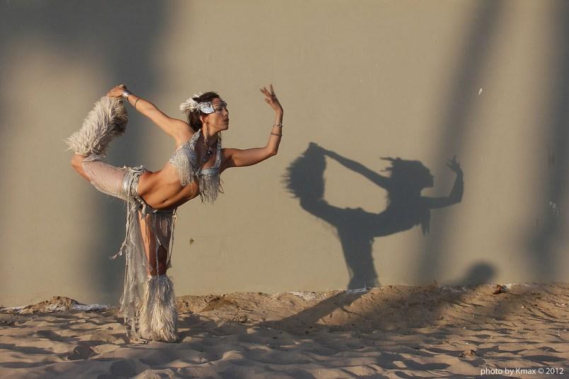 Ishani Ishaya, Venice beach, California