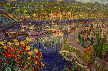 painting by Brian Scott www.bscottfinearts.ca photo by Kmax