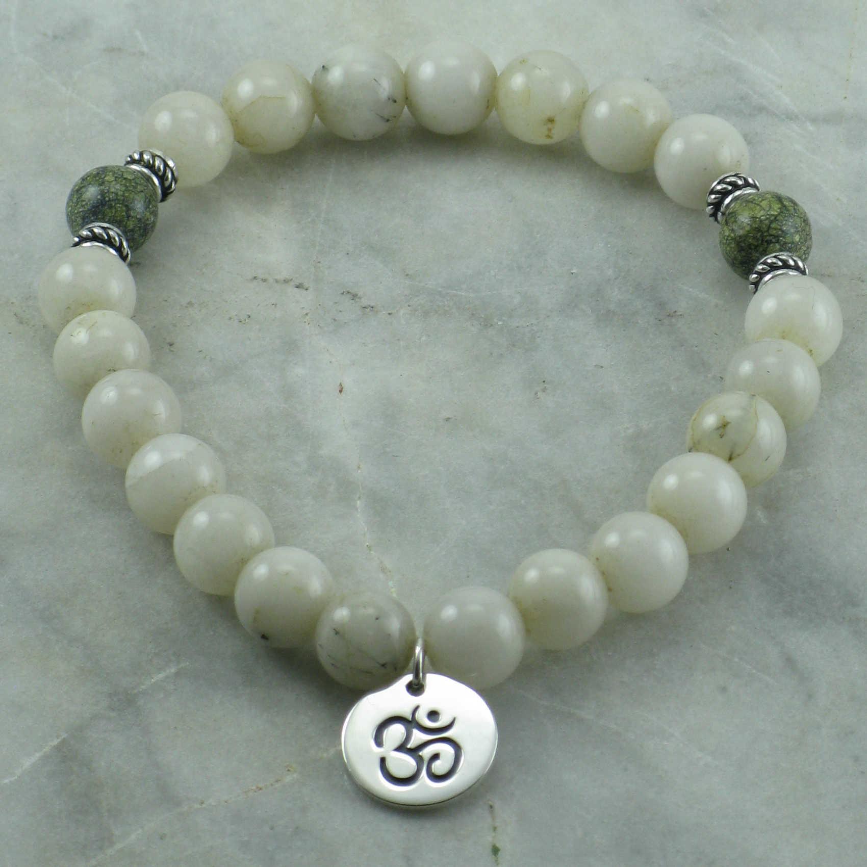Yoga Beads: 21 Mala Beads, Yoga Bracelet