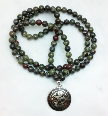 dragons blood mala necklace