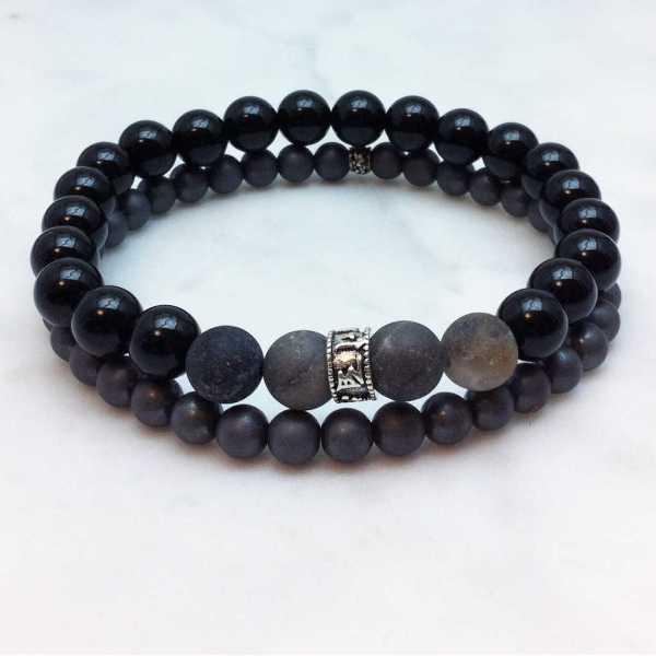 mens mala bracelet