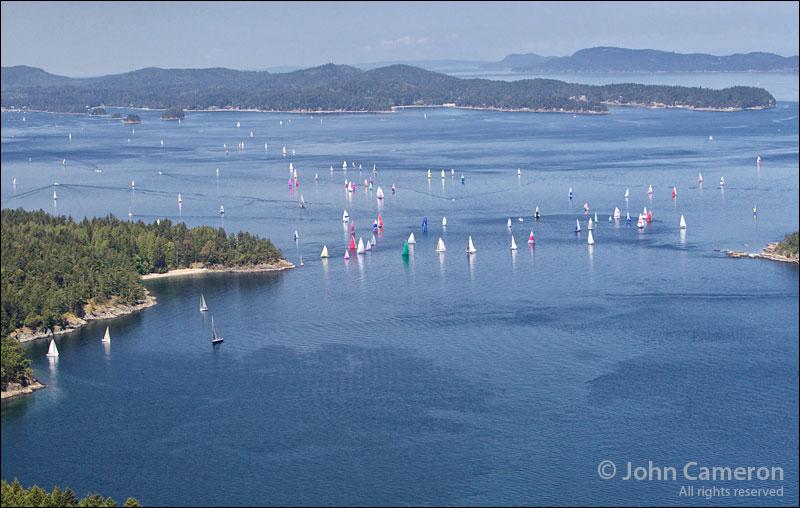 Round Saltspring 2012 aerial photo
