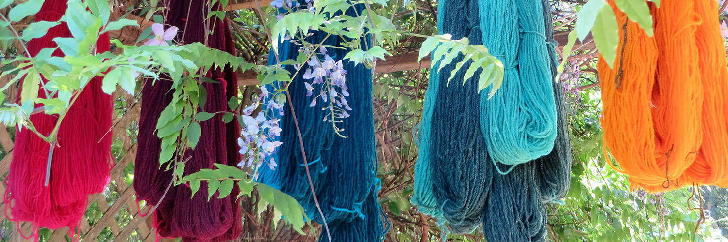 The Salt Spring Weavers and Spinners Guild offers weaving and spinning classes.